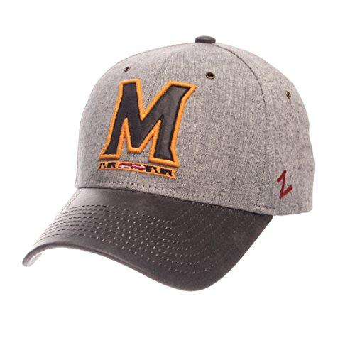 NCAA Maryland Terrapins Adult Men The Supreme Cap, Adjustable, (Maryland Terrapins Ncaa Leather)