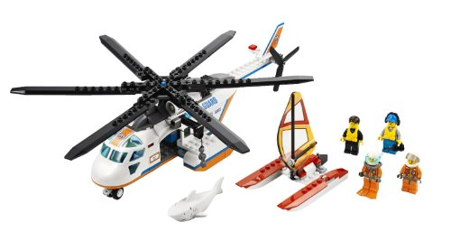 LEGO Coast Guard Helicopter (Lego Helicopter Rescue)