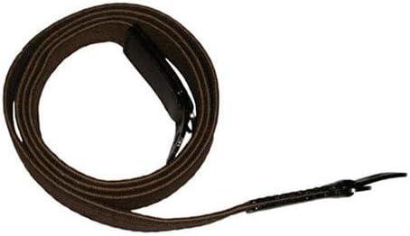 Black Label Bag Long Cloth Racing Camera Strap Brown//White//Brown