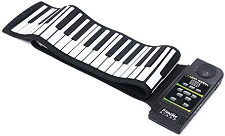 WANGLXST Portable Roll Up Piano 88 Keys Flexible Roll Up Keyboard Portable Electronic Digital Hand Roll Piano Kid Adult Music Instrument (88 Keys) Toy / WANGLXST Portable Roll Up Piano 88 Keys Flexible Roll Up Keyboard Portable Ele...