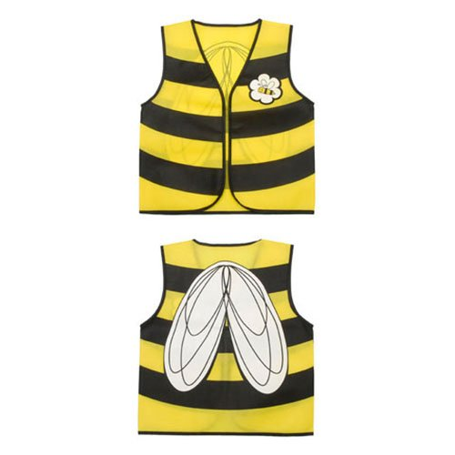 Make A Bee Costume At Home (ToySource Dress Bee-16 x 20 Inches Costume, 1 Vest)