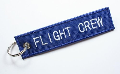 Keychain Air - Aviation Keychain for Flight Crew, Pilots, Air Crew, Airplane and Aircraft Owners