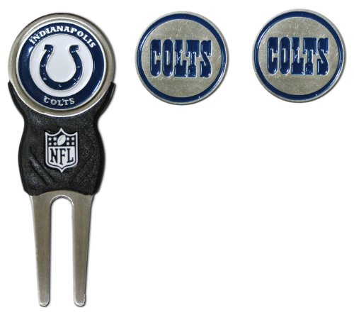 NFL Indianapolis Colts Signature Divot Tool and 2 Extra Markers