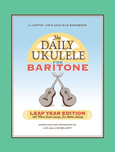 Amazon The Daily Ukulele Leap Year Edition For Baritone