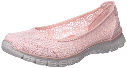 3 Flex Skechers Beautify Ez Chiusa 0 Rosa Pink Ballerine Punta Donna wqqEr