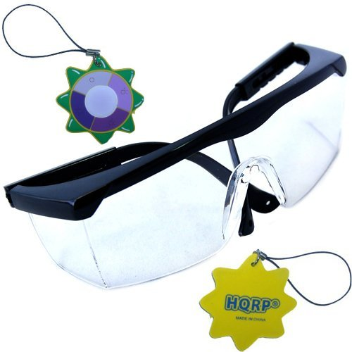 hqrp uv protection safety goggles glasses for chipping grinding