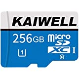 KAIWELL 256GB Micro SD Card High Speed Class 10 Memory Card Micro SD SDXC Card with Free Adapter