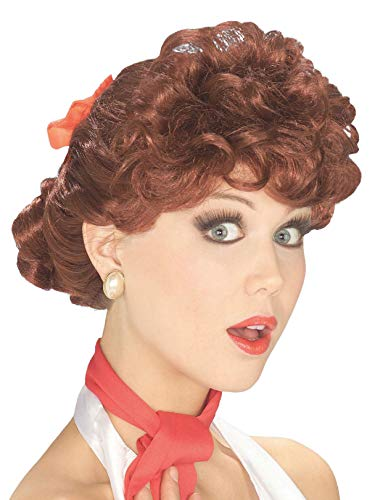 Forum Novelties Women's 50's Housewife Wig, Auburn, One Size -