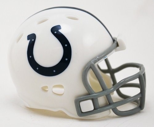 INDIANAPOLIS COLTS NFL Riddell Speed POCKET PRO MICRO / POCKET-SIZE / MINI Football Helmet