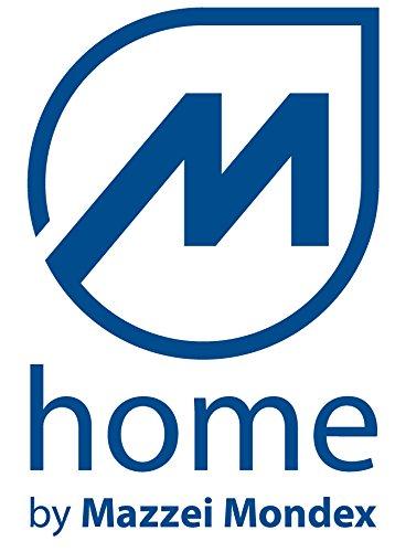 Mondex M/üllsortierer anthrazit 45 Liter mit blauem Deckel
