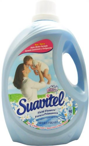 Suavitel 139107  Field Flower Fabric Softener, 150 oz Bottle