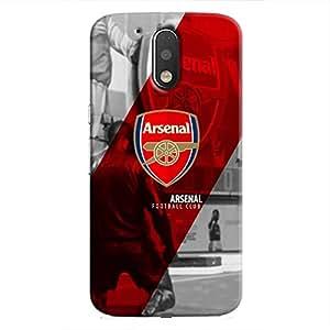Cover It Up - Arsenal FC Moto G4/G4 Plus Hard Case