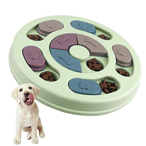 Elezenioc Hundespielzeug Intelligenz Hundefutter Welpenspielzeug,Verlangsamen Sie das Essen von Hundespielzeug,Anti…