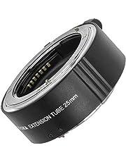 Micnova mellanrum för makrofotografi   25 mm automatisk makro mellanring, kompatibel med Nikon F-Bajonett   Extension Tube