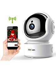 Wireless Baby Monitor WiFi Camera 1080P HD Security Nanny IP Pet Surveillance Camera with IR Infrared Night Vision Motion Detection 2-Way Talking Audio P2P WPS Pan Tilt