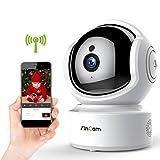 Baby Monitor Camera,KinCam Wireless Camera 1080P WiFi Security Camera Indoor,Pet IP Camera,Surveillance Nanny Camera with IR Night Vision,Motion Detection&Sound Detection,2-Way Talking,Pan/Tilt