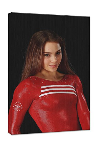 Mckayla Maroney 24X36 Gallery Wrapped 1 5  Depth Canvas Print  Mmar11