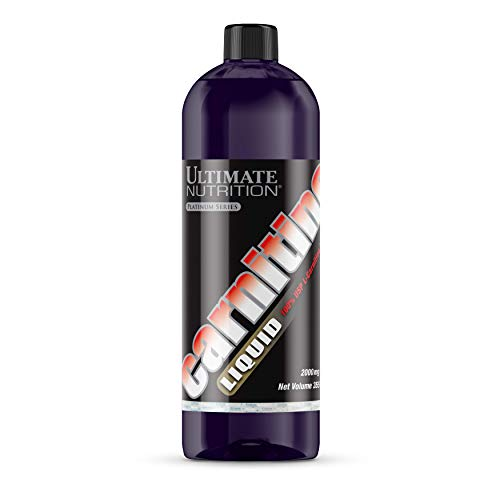 Ultimate Nutrition Carnitine Fat Burning Muscle Toning Liquid, 12oz bottle, - Cla Nutrition Ultimate