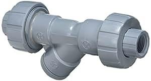 Hayward YS20050TU 1/2-Inch Threaded True Union CPVC Plastic Y-Strainer with FPM O-ring Seals