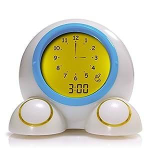 Mirari Teach Me Time! Talking Alarm Clock & Night-Light