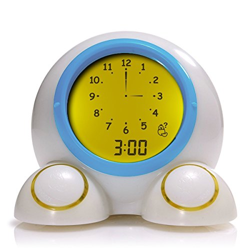 Mirari Teach Me Time! Talking Alarm Clock & Night-Light (Time Night Light)