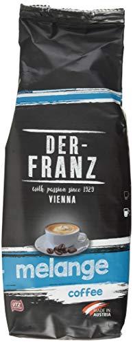 Der-Franz Melange-Kaffee UTZ, gemahlen, 2 x 500 g