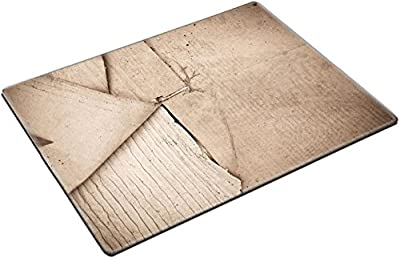 MSD Place Mat Non-Slip Natural Rubber Desk Pads design 20945154 Vintage paper with plenty of copy space for text