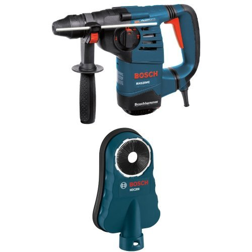 Bosch RH328VC 1-1/8-Inch SDS Rotary Hammer with HDC200 SDS-Max Hammer Dust Collection Attachment