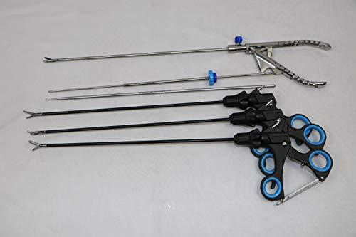 Laparoscopic Endo Training Trainer Instruments Set Practice Grasper Forceps