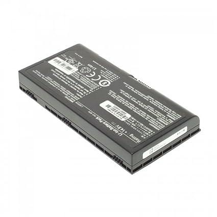 Batería, LiIon, 14.8 V, 4400 mAh, color negro para Asus G71 V: Amazon.es: Informática