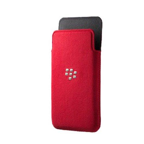 Blackberry ACC-49282-302 Z10 Microfiber Pocket - 1 Pack - Retail Packaging - Red