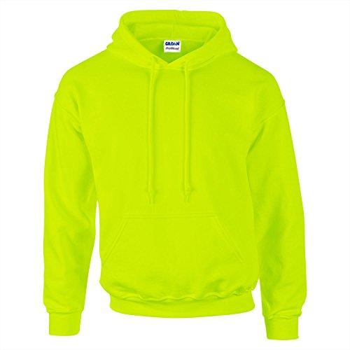 Gildan Dryblend Adult Hooded Sweatshirt - Safety Green - 2XL