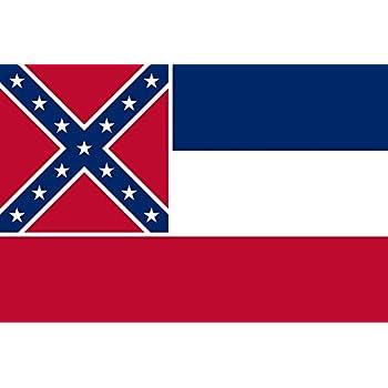 Amazon.com : Polyester USA Mississippi Flag, 3x5-Feet ...  Amazon.com : Po...