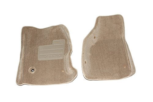Lund 602767 Catch-All Carpet Beige Front Floor Mat - Set of 2