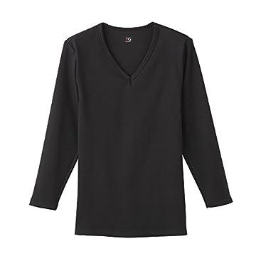 (グンゼ)GUNZE YG(ワイジー) Vネック9分袖シャツのサムネイル画像