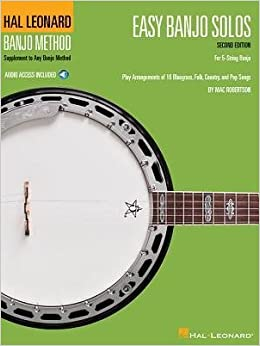 [(Easy Banjo Solos for 5-String Banjo (Book/Online Audio))] [Author: Mac Robertson] published on (July, 2014)