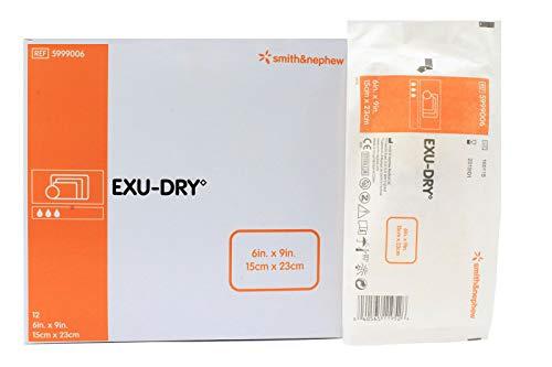 Smith y Nephew exu-dry apósitos 15.2x 22.9cm para pierna de bebé absorción total–modelo 5999006