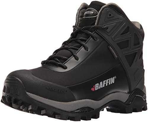 Baffin Women's Blizzard Snow Boot, Black, 10 M US Black/Grey