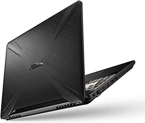 Asus TUF 15.6-inch FHD Gaming Laptop, AMD Quad Core Ryzen 7 3750H Processor, Nvidia Geforce GTX 1650 Max-Q, 8GB DDR4 RAM, 256GB Solid State Drive, RGB Backlit Keyboard, Windows 10 Home, Black