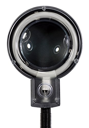 SE MC353B Table Magnifier 3.5x Lamp with Fluorescent Light, Black by SE (Image #5)