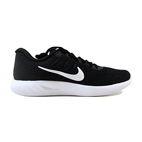 Nike Mens Lunarglide 8 Scarpa Da Corsa, Nero / Bianco-antracite, 11