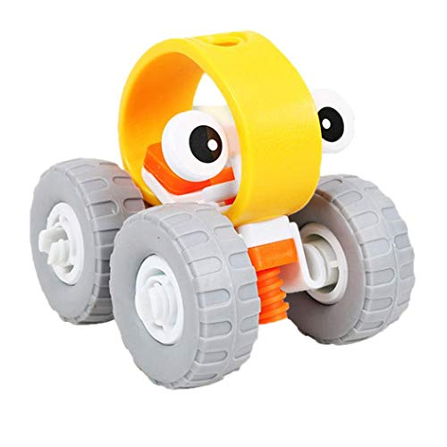Cartoon Helicopter Car Shape Disassembly Stacking Toys Toddlers Children Educational Game (Off-road Vehicle) by CINUE (Image #1)