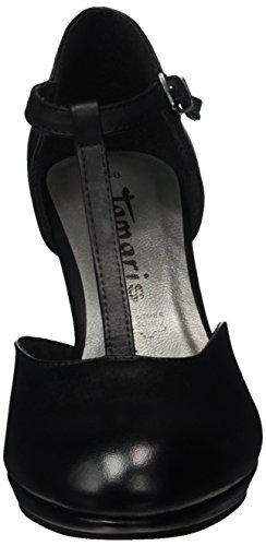 Tamaris 24412, Zapatos de Tacón para Mujer Negro (BLACK 001)