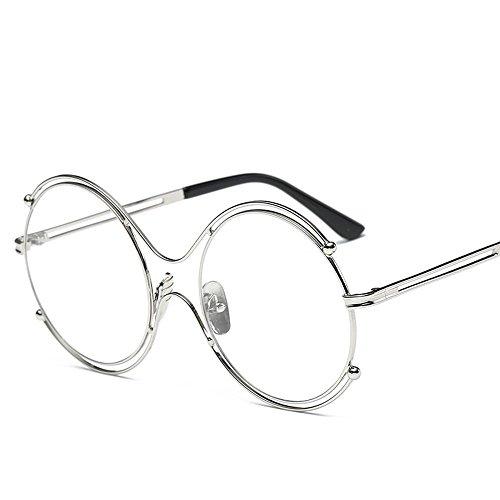 Aoligei Lunettes rondes de Frame mode pour dame lunettes de soleil Chao Mans Street Photo show couple lunettes de soleil 2sPhSfel