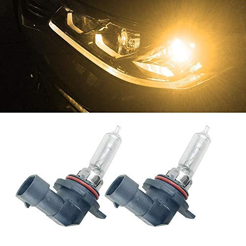 9012 Halogenlampe 55W 4300K Xenon klar Autoscheinwerferbirne 9012 HIR2 PX22d Autoscheinwerferbirnen HIR2 9012 Halogen-Gl/ühbirnen 9012 // 9012LL // HIR2 // PX22d