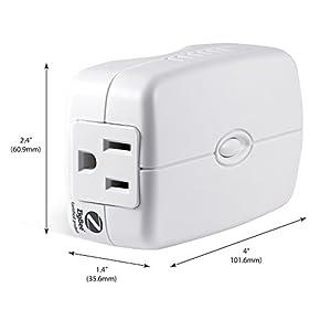 GE ZigBee Wireless Smart Lighting Control Appliance Switch