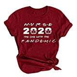Unisex Shirt Sayings Nurse 2020 The One with The