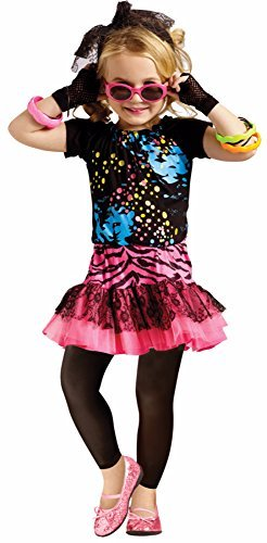 [80'S POP PARTY CHLD LG 4-6] (Children's 1980s Costumes)