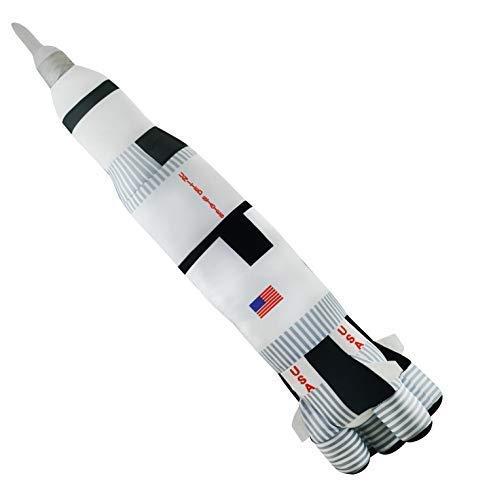 (Cuddle Zoo - Saturn V Rocket - 28 inch)
