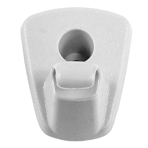 White Sun Visor Retainer Clip Replacement for Chrysler Dodge 1EJ51DW1AA